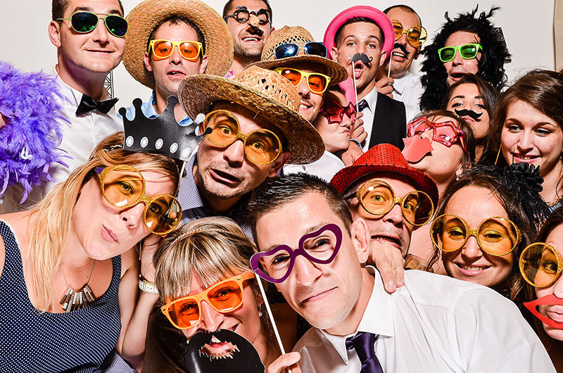 corporate parties photobooth